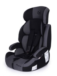 Автокресло BabyCare Legion Grey 1008/Black, 9-36кг
