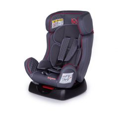 Автокресло Baby Care Nika Black/Grey 1008, 0-25кг