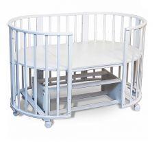 Кроватка Sweet Baby Delizia Bianco, с маятником 10 в 1