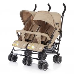 Коляска-трость для двойни Baby Care City Twin Khakki