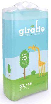 Подгузники-трусики Lovular Giraffe XL (12-17кг) 46шт.