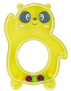 "Погремушка Baboo ""Панда"", 0+, желтая"