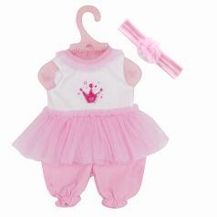 """Одежда для куклы 38-42см Mary Poppins """"Принцесса"""": комбинезон и повязка"""