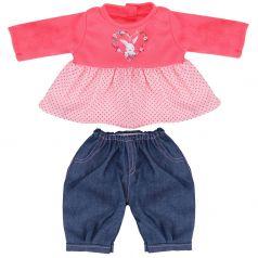 """Одежда для куклы 38-43см Mary Poppins """"Мэри"""": туника и джинсы"""