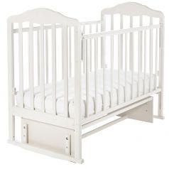 Кроватка Sweet Baby Emilia Bianco, белая