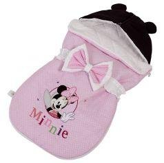 """Конверт демисезонный Polini kids Disney baby Минни Маус """"Фея"""", розовый"""