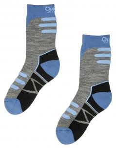 Термоноски детские OLDOS 0118Н2, серо-голубые