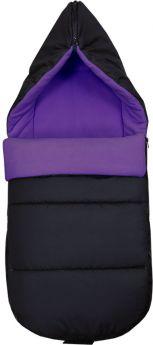 Конверт Топотушки в прогулочную коляску, на молнии, фиолетовый