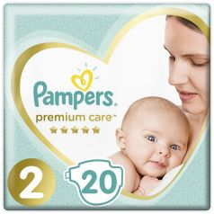 Подгузники Pampers Premium Care Mini (4-8кг), 20шт.