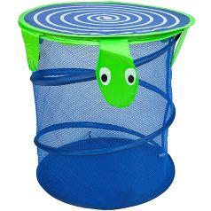 "Корзина для хранения игрушек Bondibon ""Черепаха"", 35х40см"