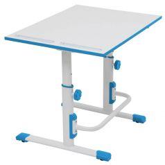 Растущая парта-трансформер Polini kids Simple М1, 75х55см, белый-синий
