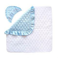 Конверт-одеяло Baby Nice на выписку, 90х90см, голубой