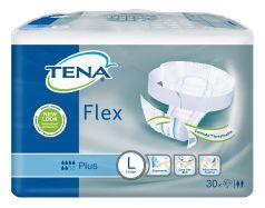 Подгузники поясные TENA Flex Plus L, 30шт.