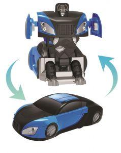 """Антигравитационная машина-робот Пламенный мотор """"3D передвижение"""" на радиоуправлении, синяя"""