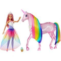 Кукла Barbie и Радужный единорог