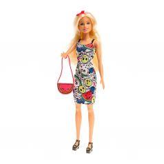 """Кукла Barbie Крайола """"Раскрась наряд"""""""