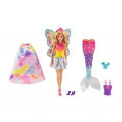 "Кукла Barbie 3в1 ""Сказочная принцесса, фея, русалка"""