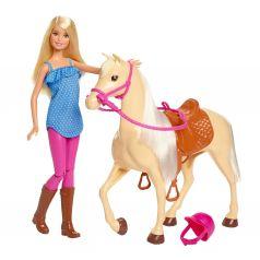 Кукла Barbie и лошадь