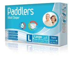 Подгузники для взрослых Paddlers L, 30шт.