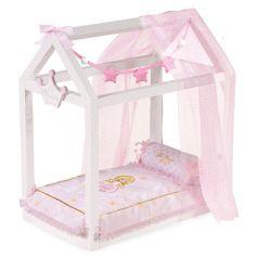 Кроватка для куклы с аксессуарами Decuevas серии Мария, 55см