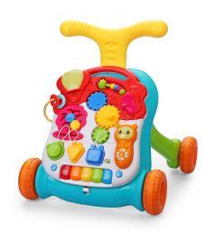 Каталка-ходунки Happy Baby Sprinter, c развивающим центром