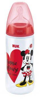 Бутылочка NUK FС+ Disney Mickey Mouse с силиконовой соской, 300мл