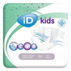 Детские подгузники iD Kids Maxi, 7-18кг, 100шт.