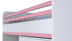 Декоративный элемент для кровати-чердака Polini Kids City, розовый