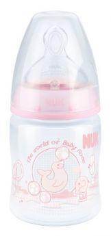 Бутылочка NUK Baby Rose First Choice Plus с силиконовой соской, 150мл