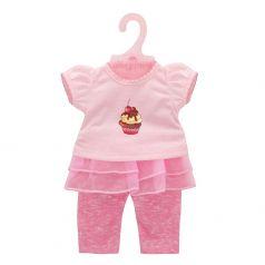"""Одежда для кукол 38-45см Mary Poppins """"Карамель"""": футболка и штанишки"""