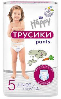 Подгузники-трусики Bella Baby Happy Pants Junior (11-18кг), 10шт.