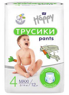 Подгузники-трусики Bella Baby Happy Pants Junior (8-14кг), 12шт.