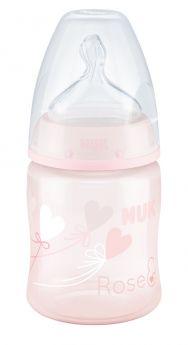 """Бутылочка NUK FС+ Baby Rose M """"Шарик"""" с силиконовой соской, 150мл"""