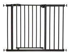 Ворота безопасности Hauck Close'n Stop Сharcoal + доп. секция 21см