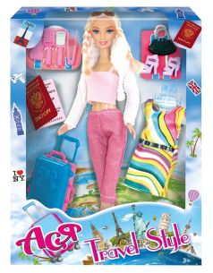 "Кукла ToysLab Ася ""Путешественница-1"", 28см"