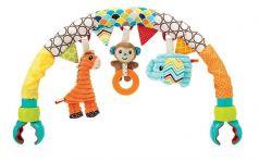 """Детская игрушка для коляски Infantino """"Дружные зверюшки"""""""
