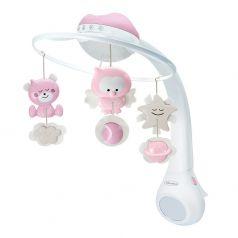 Музыкальный мобиль-проектор Infantino 3 в 1, розовый