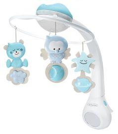 Музыкальный мобиль-проектор Infantino 3 в 1, голубой