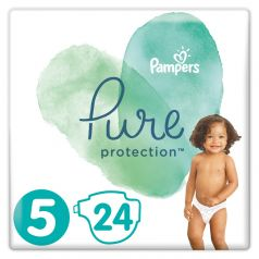 Подгузники Pampers Pure Protection Junior 5 (11+ кг), 24шт.