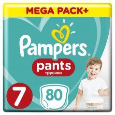 Подгузники-трусики Pampers Pants Size 7 (17+ кг), 80шт.