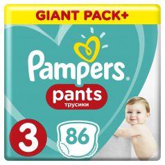 Подгузники-трусики Pampers Pants Midi 3 (6-11кг), 86шт.