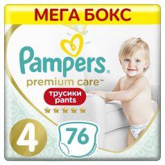 Подгузники-трусики Pampers Premium Care Pants Maxi 4 (9-15кг), 76шт.