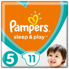 Подгузники Pampers Sleep & Play Junior 5 (11-16кг), 11шт.
