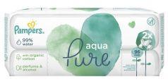 Детские влажные салфетки Pampers Aqua Pure, 96шт.