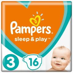 Подгузники Pampers Sleep & Play Midi 3 (6-10кг), 16шт.