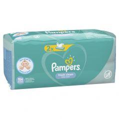 Детские влажные салфетки Pampers Fresh Clean, 104шт.