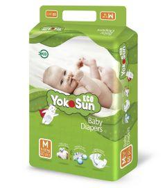 Детские подгузники YokoSun Eco М (5-10кг), 60шт.