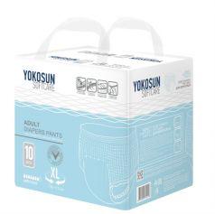 Подгузники-трусики для взрослых YokoSun XL 130-170см), 10шт.