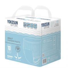 Подгузники-трусики для взрослых YokoSun L (100-140см), 10шт.