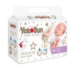 Подгузники YokoSun Premium NB (0-5кг) 36шт.